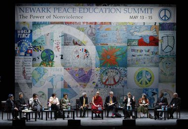 Peace in the World panel at Newark Peace Summit