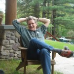 Robert Thurman at Menla Mountain Retreat center in Phoenecia, New York. Photo by Emily Davidow.